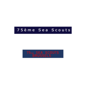 Écusson 75 Sea Scouts
